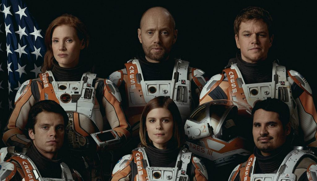 Seul sur Mars team