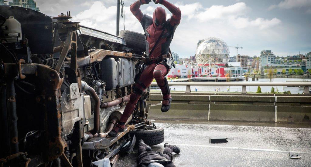 Deadpool violence