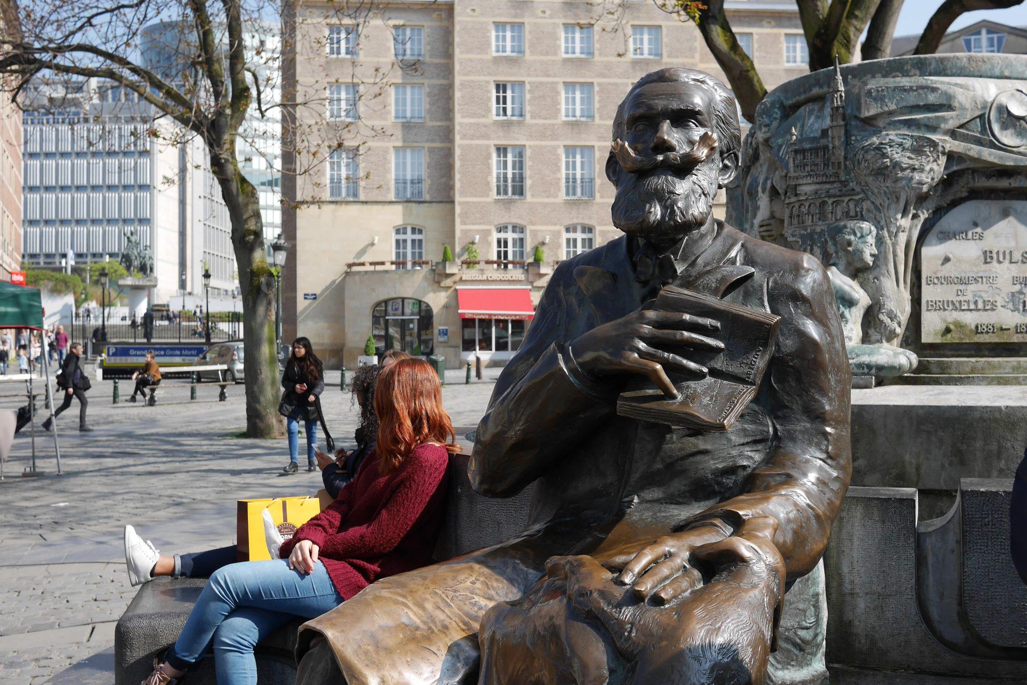 Bruxelles statue