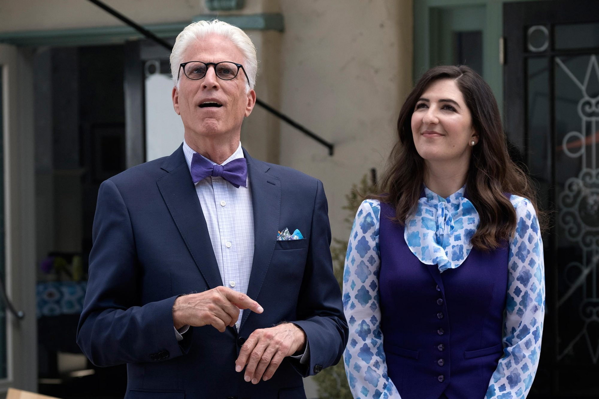 the good place mickael janet